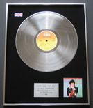 ADAM & THE ANTS - Prince Charming PLATINUM LP presentation Disc